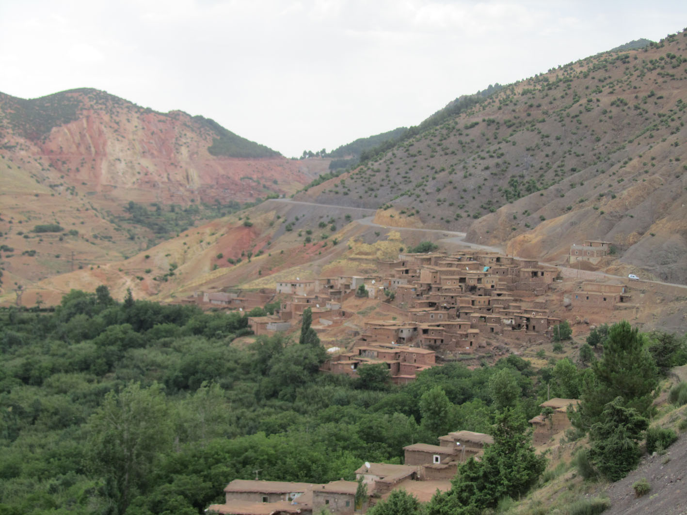 berber villages in atlas
